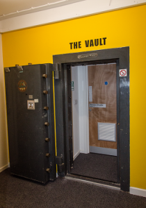 Photo of the Vault entrance